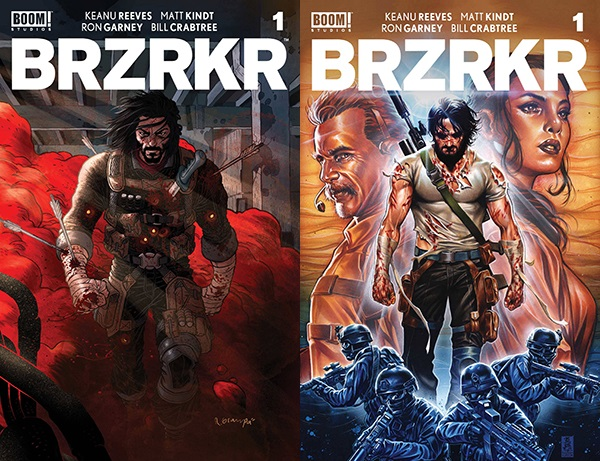 DYNAMIC FORCES® - BRZRKR (BERZERKER) #1 COVER A BY RAFAEL GRAMPA AND COVER  B BY MARK BROOKS CGC GRADED!