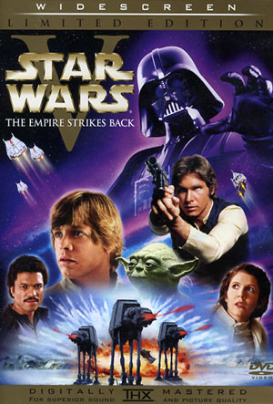 STAR WARS EPISODE V: THE EMPIRE STRIKES BACK 2 DISC DVD. PRICE: