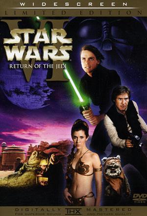 STAR WARS EPISODE VI: RETURN OF THE JEDI 2 DISC DVD $15.00
